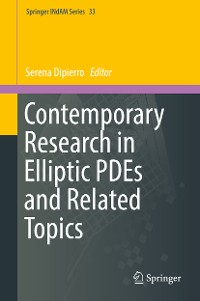 Cover Contemporary Research in Elliptic PDEs and Related Topics