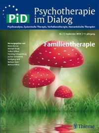 Cover Psychotherapie im Dialog - Familientherapie