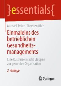 Cover Einmaleins des betrieblichen Gesundheitsmanagements