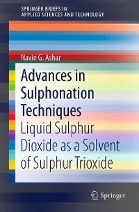 Cover Advances in Sulphonation Techniques