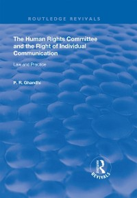 Cover Human Rights Committee and the Right of Individual Communication