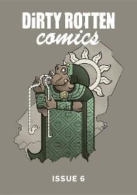Cover Dirty Rotten Comics #6 (British Comics Anthology)