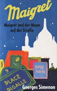 Cover Maigret und der Mann auf der Straße