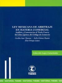 Cover Ley Mexicana de Arbitraje en Materia Comercial