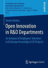 Cover Open Innovation in R&D Departments