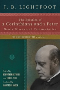 Cover Epistles of 2 Corinthians and 1 Peter