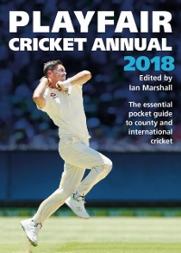 Cover Playfair Cricket Annual 2018