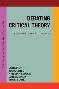 Cover Debating Critical Theory