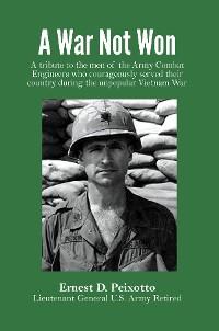 Cover A War Not Won