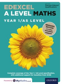 Cover Edexcel A Level Maths: Year 1 / AS Level: Bridging Edition