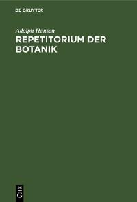 Cover Repetitorium der Botanik