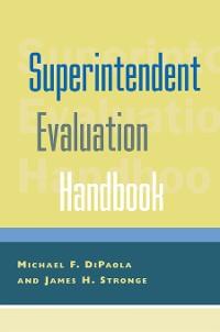 Cover Superintendent Evaluation Handbook