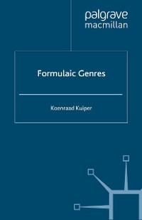 Cover Formulaic Genres