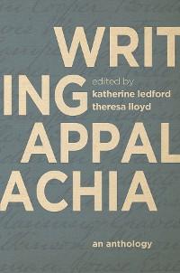 Cover Writing Appalachia