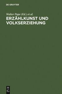 Cover Erzählkunst und Volkserziehung