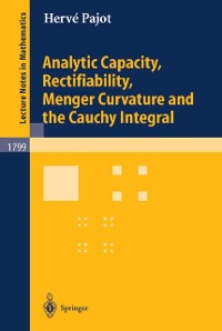Cover Analytic Capacity, Rectifiability, Menger Curvature and Cauchy Integral