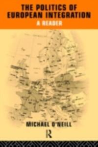 Cover Politics of European Integration