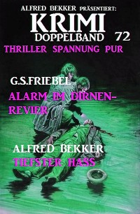 Cover Krimi Doppelband 72 - Thriller Spannung pur