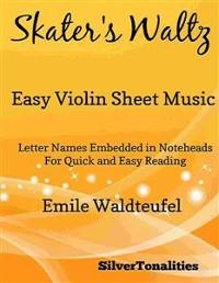 Cover Skater's Waltz Easy Violin Sheet Music