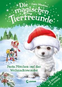 Cover Die magischen Tierfreunde - Paula Pfötchen und das Weihnachtswunder