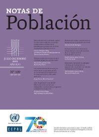 Cover Notas de Población Año XLVI No.109 Julio-Diciembre de 2019