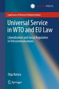 Cover Universal Service in WTO and EU law
