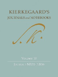 Cover Kierkegaard's Journals and Notebooks