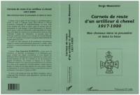 Cover Carnets de route d'un artilleur a cheval 1917-1920