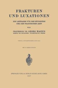 Cover Frakturen und Luxationen