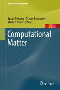 Cover Computational Matter