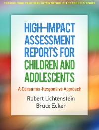 Cover High-Impact Assessment Reports for Children and Adolescents