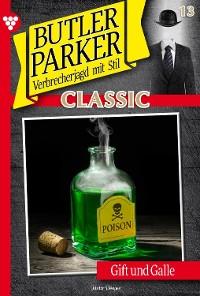 Cover Butler Parker Classic 13 – Kriminalroman