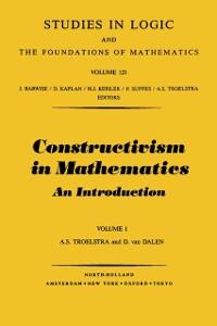 Cover Constructivism in Mathematics, Vol 1