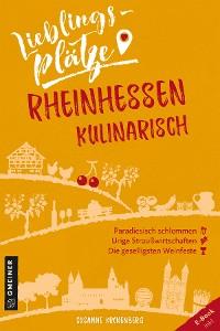 Cover Lieblingsplätze Rheinhessen kulinarisch