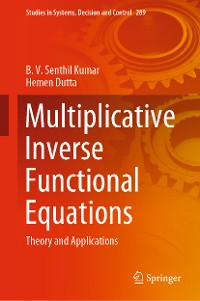 Cover Multiplicative Inverse Functional Equations