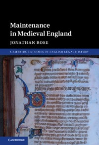 Cover Maintenance in Medieval England