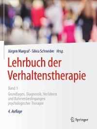 Cover Lehrbuch der Verhaltenstherapie, Band 1