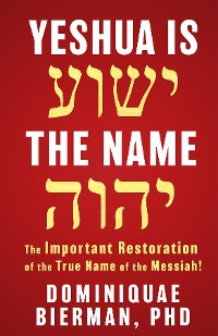 Cover Yeshua is the Name