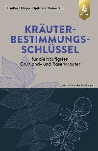 Cover Kräuterbestimmungsschlüssel für die häufigsten Grünland- und Rasenkräuter