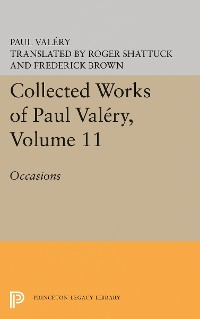 Cover Collected Works of Paul Valery, Volume 11