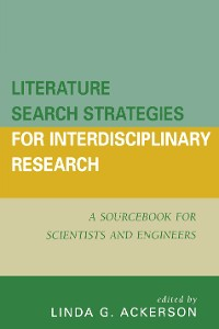 Cover Literature Search Strategies for Interdisciplinary Research