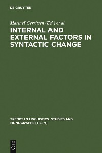 Cover Internal and External Factors in Syntactic Change