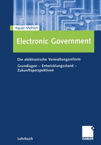 Cover Electronic Government