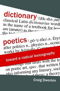 Cover Dictionary Poetics