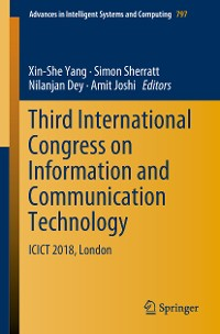 Cover Third International Congress on Information and Communication Technology