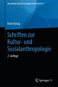 Cover Schriften zur Kultur- und Sozialanthropologie