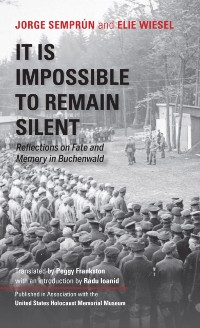 Cover It Is Impossible to Remain Silent