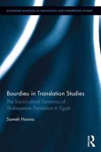 Cover Bourdieu in Translation Studies