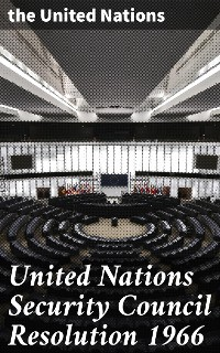 Cover United Nations Security Council Resolution 1966
