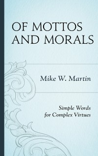 Cover Of Mottos and Morals